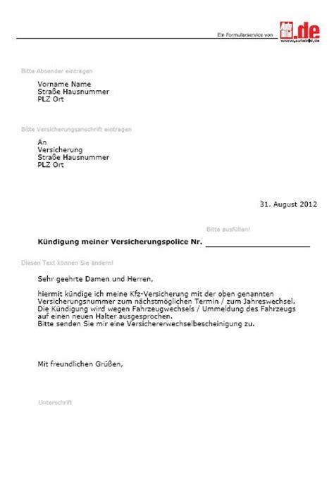 Wohnung Anfrage Brief Autovertrag K 252 Ndigen Vorlage Kostenlos