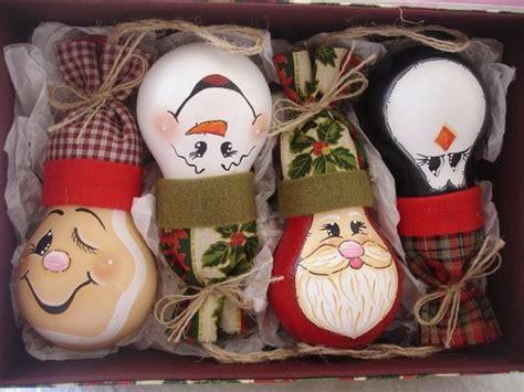 light bulb ornaments light bulb ornament crafts