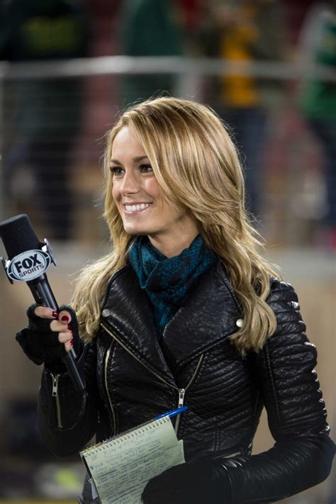 hot chick on nfl live molly mcgrath returns to espn as college sports sideline