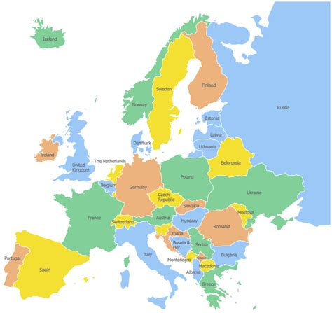 europe map germany geo map europe germany