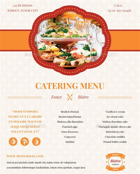 Catering Company Flyer