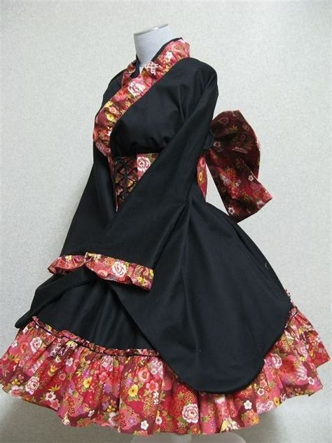 Waloli Harajuku Yukata waloli wunderwelt originating the fashion