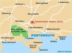 Portsmouth England Map by Maps Of Portsmouth University Of Portsmouth Map Of