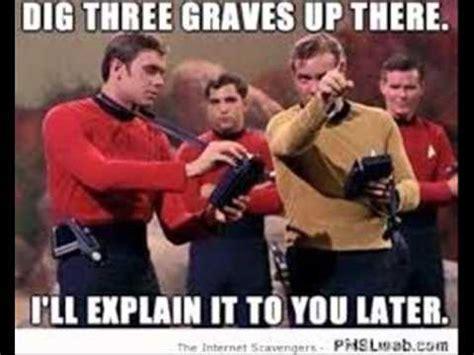 Redshirt Meme - star trek red shirt meme youtube