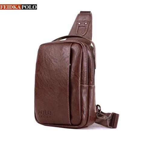 Handbag Tas Maryline Fashion Biru brand bag chest pack sling single shoulder pack bag leather travel bag