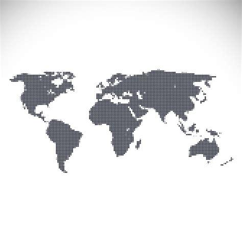 design free map world map design vector free download