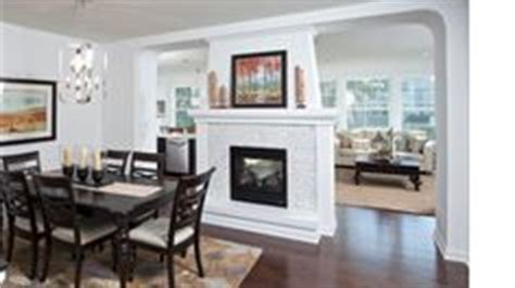 Fireplace Between Dining Room And Living Room 1000 Images About Decorating Ideas On Two