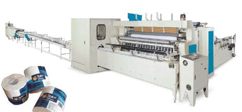 Toilet Paper Roll Machine - automatic toilet paper roll production line dc tp pl1092