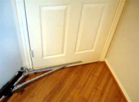 how to open a bedroom door without a key garage door opener now a bedroom door closer hackaday