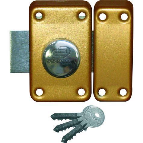cadenas vachette ancien verrou bouton cylindre 40 mm standers city 5g leroy