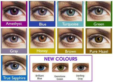 prescription color contacts non prescription color contacts for sale in az