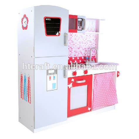 Play Kitchen Sets For 5 Year by 113 100 32cm Refrigerator And Cabinets Wooden Play Kitchen