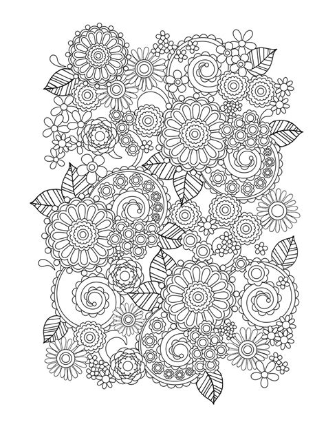 flower coloring book flower designs i create coloring books to stimulate