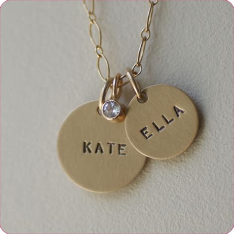 custom made baby name jewelry by designs