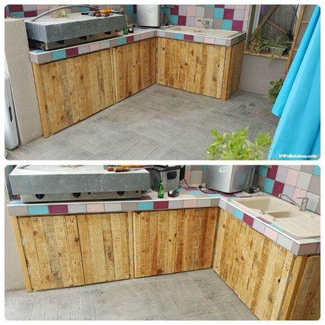 diy building kitchen cabinets 15 top pallet projects you can build at home 101 pallet