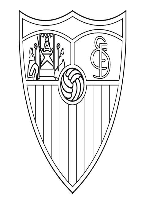 escudo del madrid para colorear az dibujos para colorear escudo de para colorear pintar e imprimir escudos de