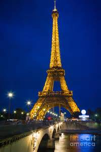 Duvet Cover Eiffel Tower Eiffel Tower By Night Photograph By Inge Johnsson