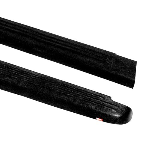 bed caps wade 174 gmc canyon 2004 2012 ribbed black side bed caps