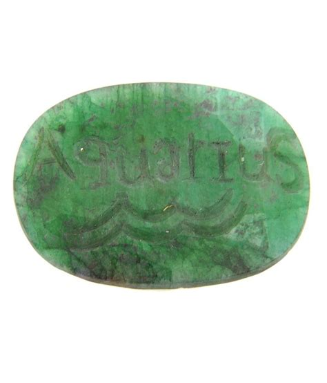 avaatar gems 98 05ct mgl certified carved green emerald