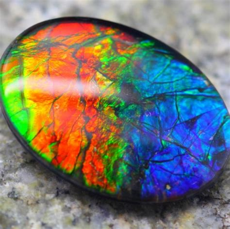 colorful stones multi color canadian gemstone ammolite colorful colour