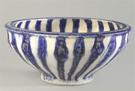 typography bowl file blue and white bowl with radial design 13th century jpg