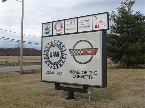 Bowling Green Ky Uaw Hall Entrance Sign Flickr Photo Town Buffet Bowling Green Ohio
