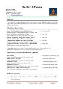 Biology Resume Exles by Sle Resume Biology Major Sagu Christian