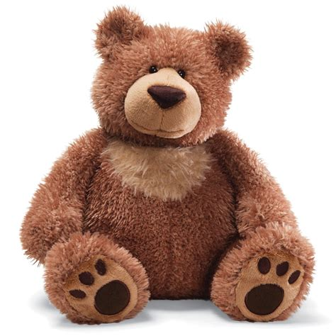 stuffed animal slumbers brown plush hub