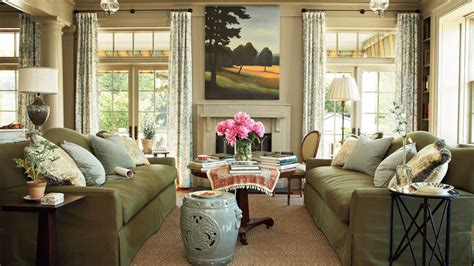 southern living family rooms living room senoia georgia idea house tour southern living