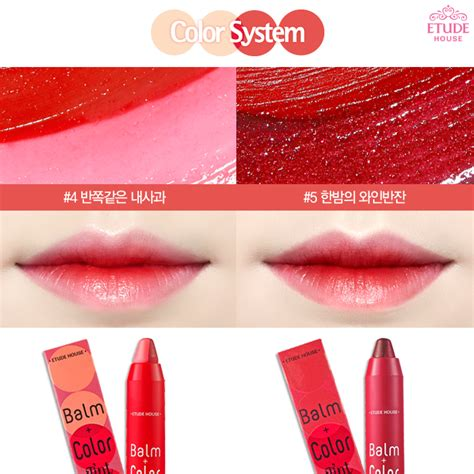 Lip Tint Etude Indonesia chibi s etude house korea etude house balm color tint