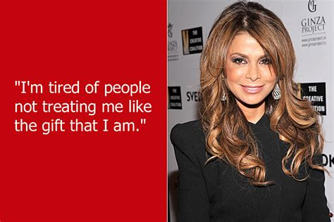 Paula Abdul Is A Gift To The World dumb quotes paula abdul