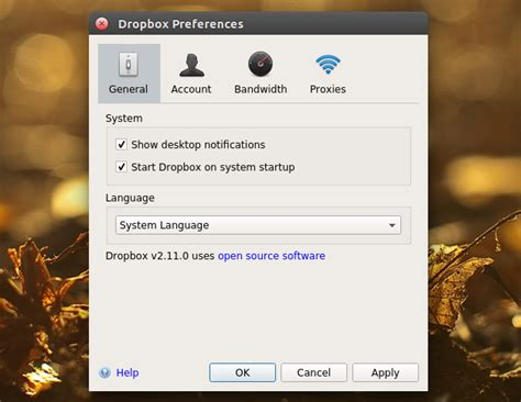 dropbox qt dropbox ui rewritten in qt for latest experimental linux