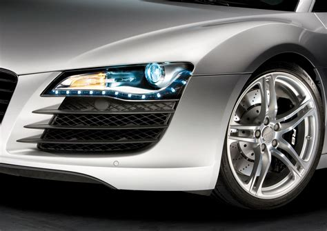 audi r8 headlights audi light and design car body design