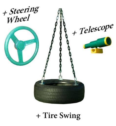 tire swing kits tire swing kit swivel for swing sets adventure package