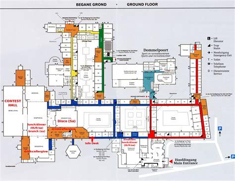 Floorplan by European Barbershop Convention 2013