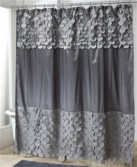 Macys Kitchen Curtains Avanti Bath Accessories Flutter Dots Shower Curtain Bathroom Accessories Bed Bath Macy S
