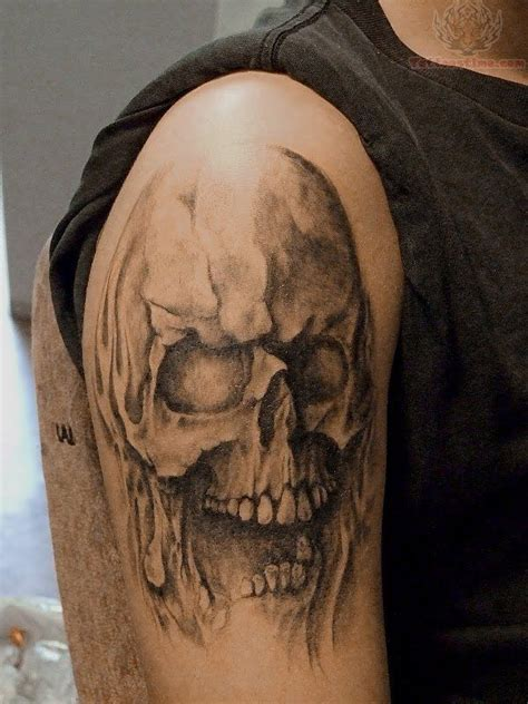 crazy skull tattoos getting tattooed a skull on your has
