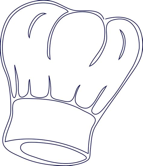 coloring page chef hat chefs hat any chef or hostess would love to receive a chef