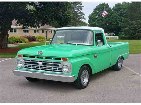 1966 Ford F100 For Sale by 1966 Ford F100 For Sale On Classiccars 20 Available