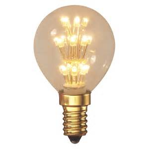 Calex Led Light Bulbs Calex E14 1w 20 Led Decorative Golfball Light Bulb Buy Now At Habitat Uk