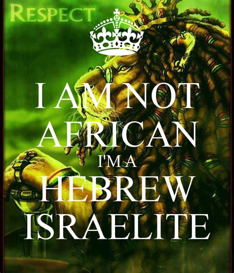 hebrews to negroes 2 volume 3 up black america books i am not i m a hebrew israelite poster