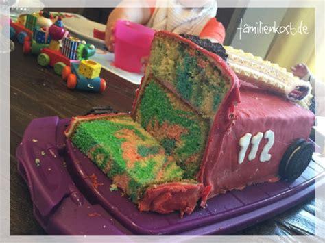 kuchen als feuerwehrauto feuerwehrauto als kuchen zum kindergeburtstag backen