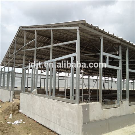Controlled Poultry Sheds Design by Light Frame Steel Structure Poultry Farm Shed Design