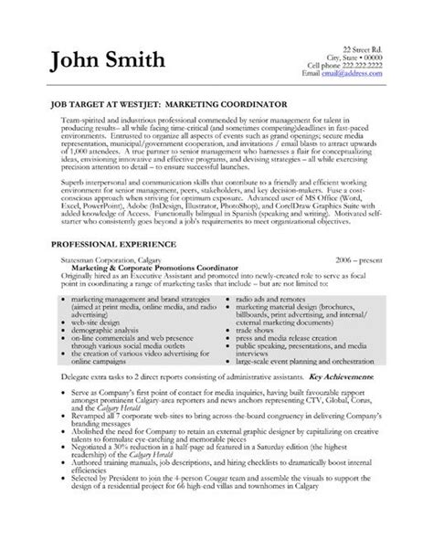 project coordinator resume sles 16 best images about best project coordinator resume