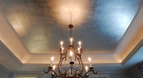 Painting A Tray Ceiling Exles I Particularly Ceilings In Metallic Finishes Where A