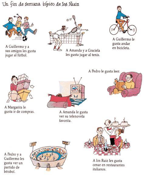 libro learn spanish ii libro 2 lecci 243 n 1 191 qu 233 te gusta hacer en tu tiempo libre 191 qu 233 prefieres hacer spanskfordeg