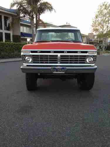 sell used 1973 ford f250 highboy in point california