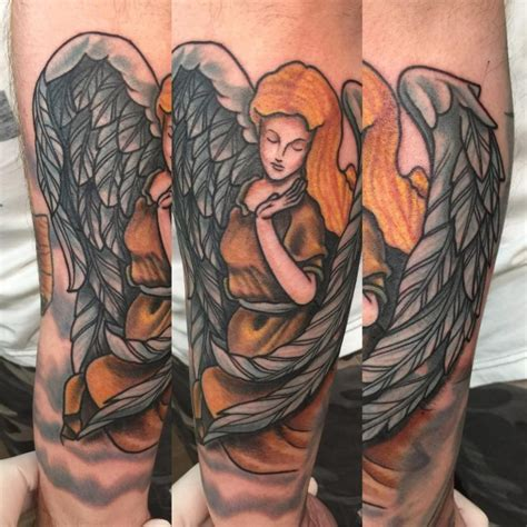 angel tattoo traditional 110 best guardian angel tattoos designs meanings 2018