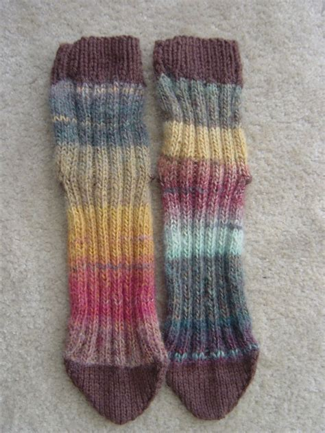 knitting pattern for socks using two needles 1000 images about tube socks knit on pinterest