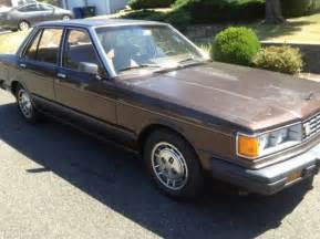 1984 Nissan Maxima 1984 Nissan Maxima Gl Sedan 4 Door 2 4l For Sale Photos